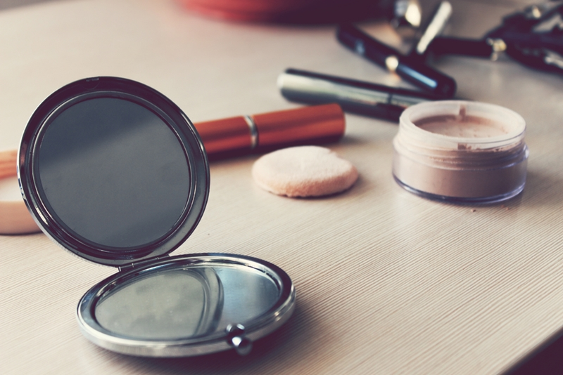 Playing with makeup will take you back to your middle-school-makeover days!